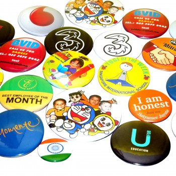 Round Reel Badges